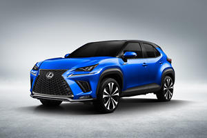 Lexus LBX Subcompact Crossover Could Look Just Like This