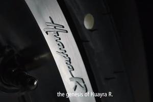 Pagani Teases New Hardcore Huayra R