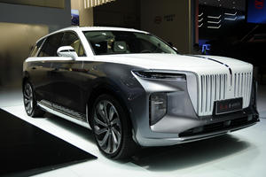 China's New EV Looks Like The Lovechild Of Rolls-Royce And Tesla