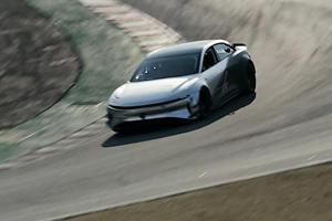 Lucid Air Hits Back At Tesla's Laguna Seca Lap Record