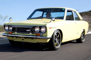 Unique of the Week: 1970 Datsun Bluebird SSS Coupe
