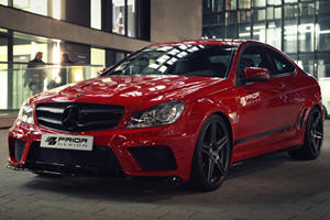 C Class Coupe Black Edition by Prior Design