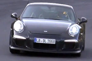 Porsche Testing GT3 & Turbo at the Ring