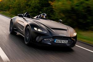 Aston Martin's Radical V12 Speedster Hits The Road