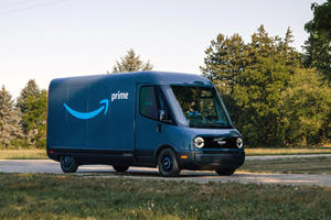 Amazon's New Delivery Van Is Adorable And All-Electric