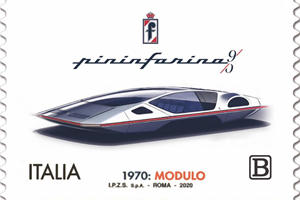 Iconic Pininfarina Modulo Gets Its Very Own Stamp
