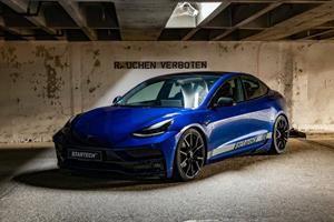 Startech Gives Tesla Model 3 A Premium Makeover