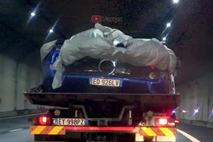 Special Pagani Zonda S Crashes In Italy