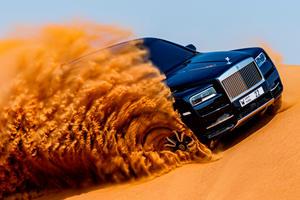 Watch The Rolls Royce Cullinan Attack The Arabian Desert