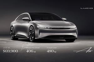 Entry-Level Lucid Air Pricing Revealed, Undercuts Tesla Model S