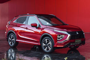 2022 Mitsubishi Eclipse Cross Revealed With Improved Styling