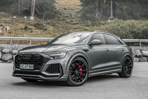 Audi RS Q8 Gets New Exhaust And Fancy Wheels