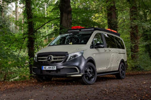 Mercedes Metris Turned Into The Perfect Camping Partner