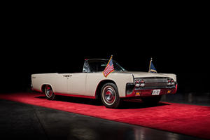 JFK's Convertible Limo Sells For Small Fortune