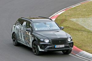 Bentley Bentayga Spied With Extended Wheelbase