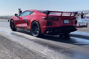 Watch 1,000-HP C8 Corvette Set 9-Second Quarter-Mile