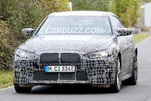 BMW i4 M Spied With Aggressive Styling