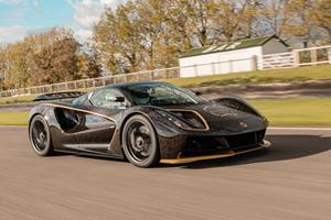 Lotus Evija Debuts New Retro Racing Livery At Goodwood