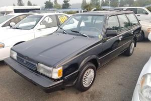 Weekly Treasure: 1991 Subaru Loyale Wagon