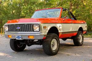 1972 Chevrolet K5 Blazer 4x4 Is A Throwback Open-Air SUV