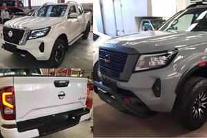 New 2021 Nissan Frontier Spied Completely Undisguised