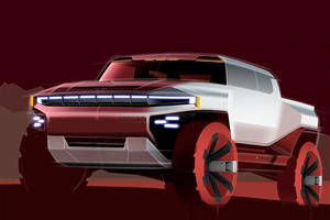 GM Reveals Early Sketches Of Reborn GMC Hummer