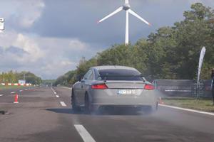 Watch An 800-HP Audi TT Run 0-62 In 2.8 Seconds