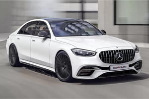 This Is What The New Mercedes-AMG S63e Will Look Like