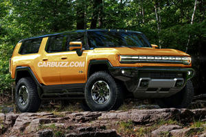 This Is The GMC Hummer SUV Before You're Supposed To See It