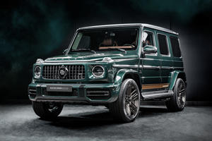 Mercedes-AMG G63 Racing Green Edition Is Pure Class
