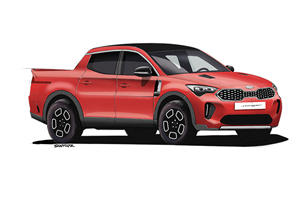 The Kia Stinger Looks Awesome As A Truck