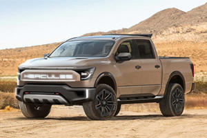 This New Electric Pickup Wants To Challenge The Hummer