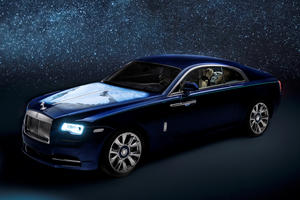 This Bespoke Rolls-Royce Shows The Middle East From Space
