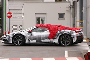 Spied! Check Out The Ferrari SF90 Stradale Spider