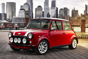 Converting A Classic Mini Into An Electric Car Doesn't Come Cheap