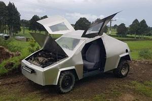 Homemade Tesla Cybertruck Costs Just $340