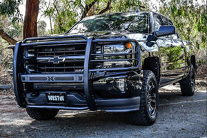 Chevrolet Silverado Gets New Rugged Grille Guard
