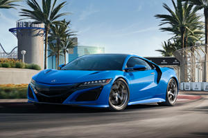 2021 Acura NSX Looks Gorgeous In New Long Beach Blue Pearl Paint