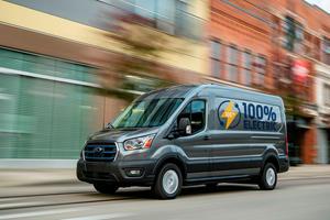 Ford E-Transit Cargo Van