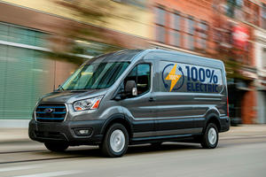 Ford Unveils All-New, All-Electric E-Transit Van