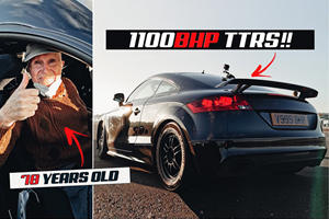 This 78-Year-Old Legend Owns World's Fastest Audi TT RS