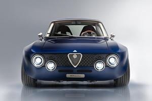 Alfa Romeo EV Restomod Is A Work Of Art On Wheels