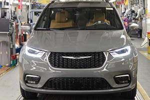 Chrysler's Most Luxurious Minivan Enters Production