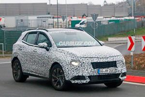 Next-Generation Kia Sportage Looks Radically Different