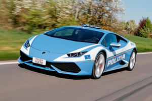 Lamborghini Huracan Police Car Races Across Italy To Deliver A Kidney