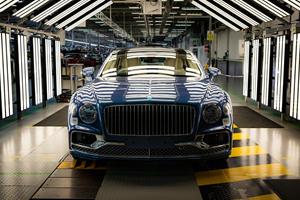 Bentley's Driver-Focused Flying Spur V8 Enters Production