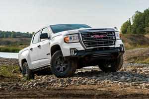 2021 GMC Canyon AT4 Gets New Off-Road Performance Edition