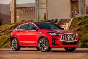 Meet The 2022 Infiniti QX55: A Stylish Coupe-SUV With Plenty Of Soul