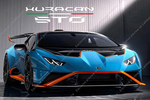 LEAKED: This Is The Lamborghini Huracan STO Before You're Supposed To See It