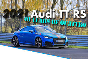 New Special-Edition Audi TT RS Hits The Nurburgring